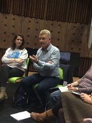 Dr. Andrew Power, Registrar, IADT, shared thoughts on the use of focus groups in research.